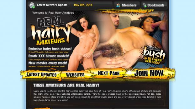 RealHairyAmateurs.com - SiteRip