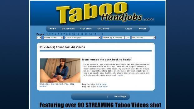 TabooHandjobs - SiteRip