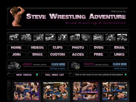 SteveWrestlingAdventure - SiteRip