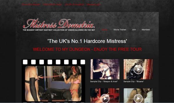MistressDometria - SiteRip