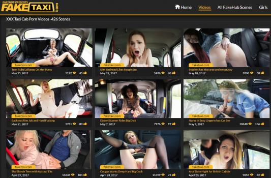 FakeTaxi - SiteRip (Updated Jan 2018)