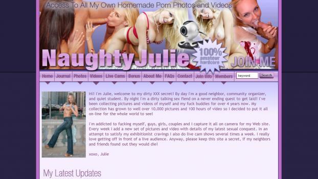 NaughtyJulie - SiteRip